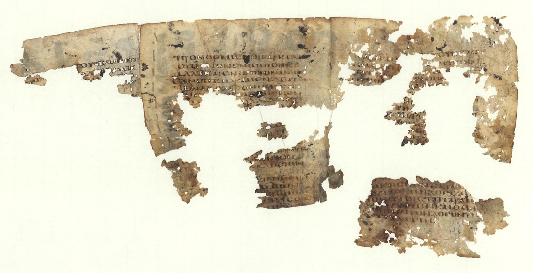 a sixth century greek new testament manuscript reused for